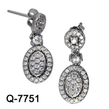 New Design 925 Silver Fashion Earrings Imitation Jewelry (Q-7751. JPG)