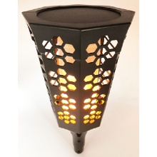 New 72SMD Led Solar Flame Garden Light