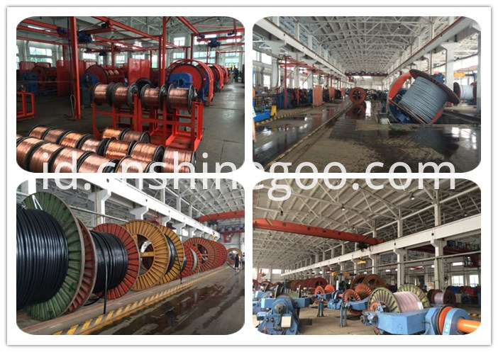 power cable mill factory
