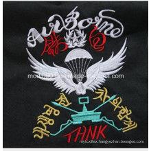 Korea and Japan Embroidery Logo