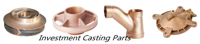 Bronze investment casting auto part