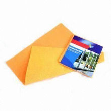 Window and Glass Cleaning Wipe, Measures 39 x 34cm, Made of Viscose and polyester non-woven cloth