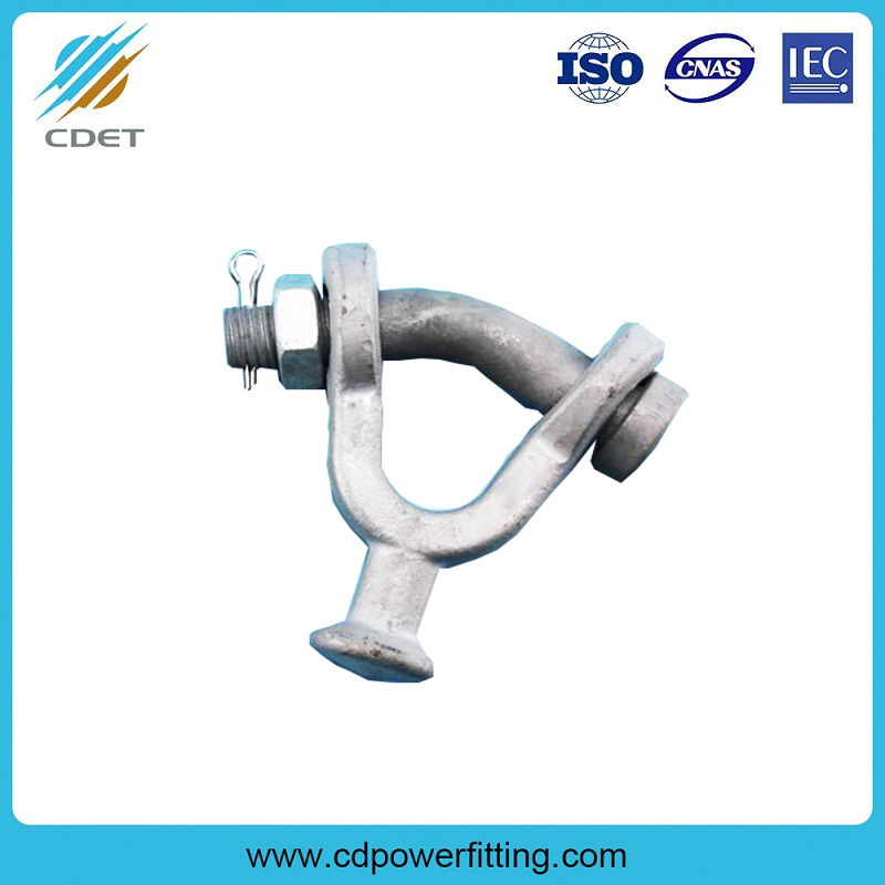 Hot-dip Galvanized Ball eye Y Type Clevis