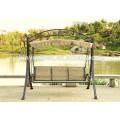 Durable patio garden Swing Chair bed deluxe Steel swing