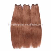 2016 à la mode pleine extrémité meilleure vente trame de cheveux de haute qualité des cheveux humains tisse