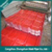 El material compuesto la materia prima es la bobina de acero revestida del color PPGI