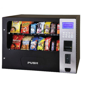 Snack Cans Drink Food Vending Machine with 14 Channels