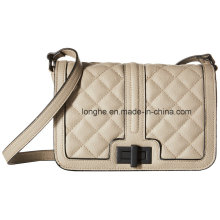 Fashion Quilted PU Leather Ladies Shoulder Handbag (ZXS0081)