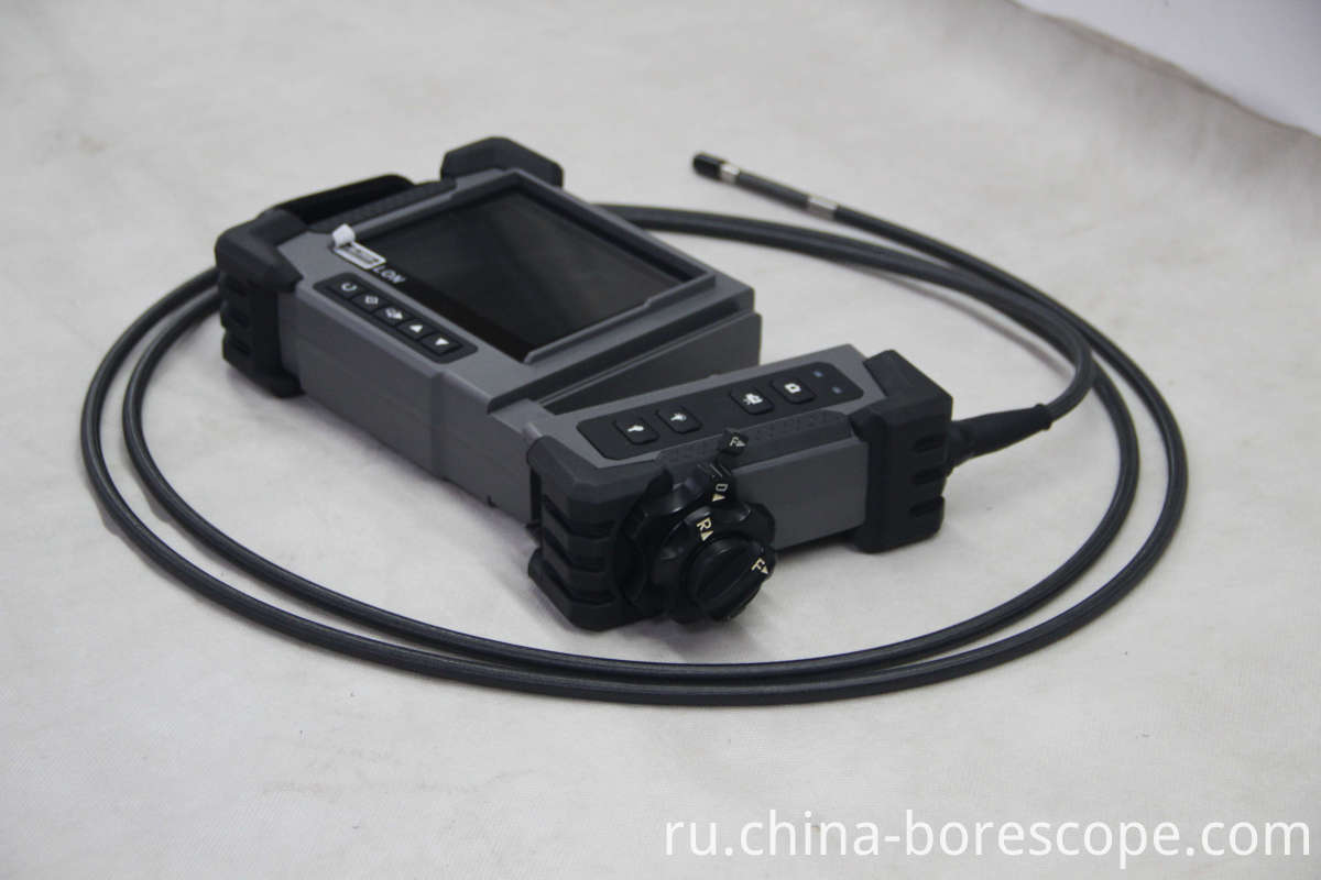 Blockage inspection videoscope