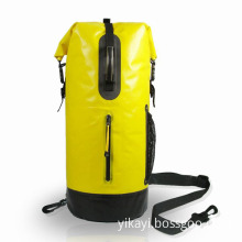 PVC Waterproof Tube Backpack Dry Bag 30L