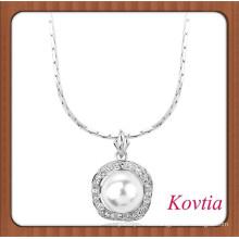 La joyería de la perla de la manera del diseño de la joyería de la muchacha más joven de la manera de la joyería