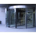 Two-wing Automatic Revolving Doors with Three Functions