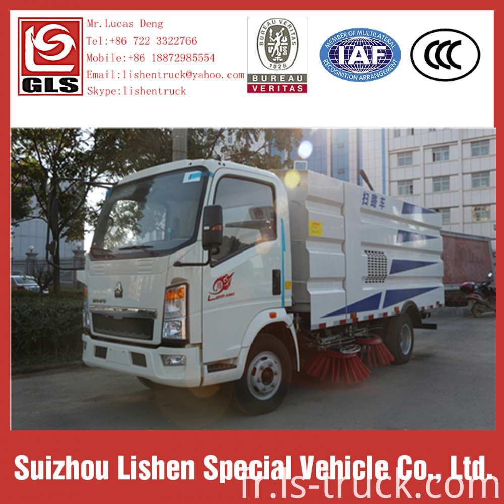 Howo Road Sweeper Truck