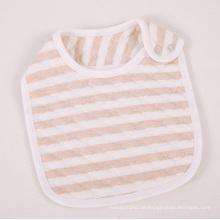 Organic Cotton Striped Baby Lätzchen