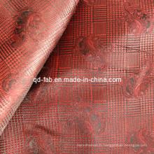 Jacquard 100% poly fil teint rouge (JF-4)