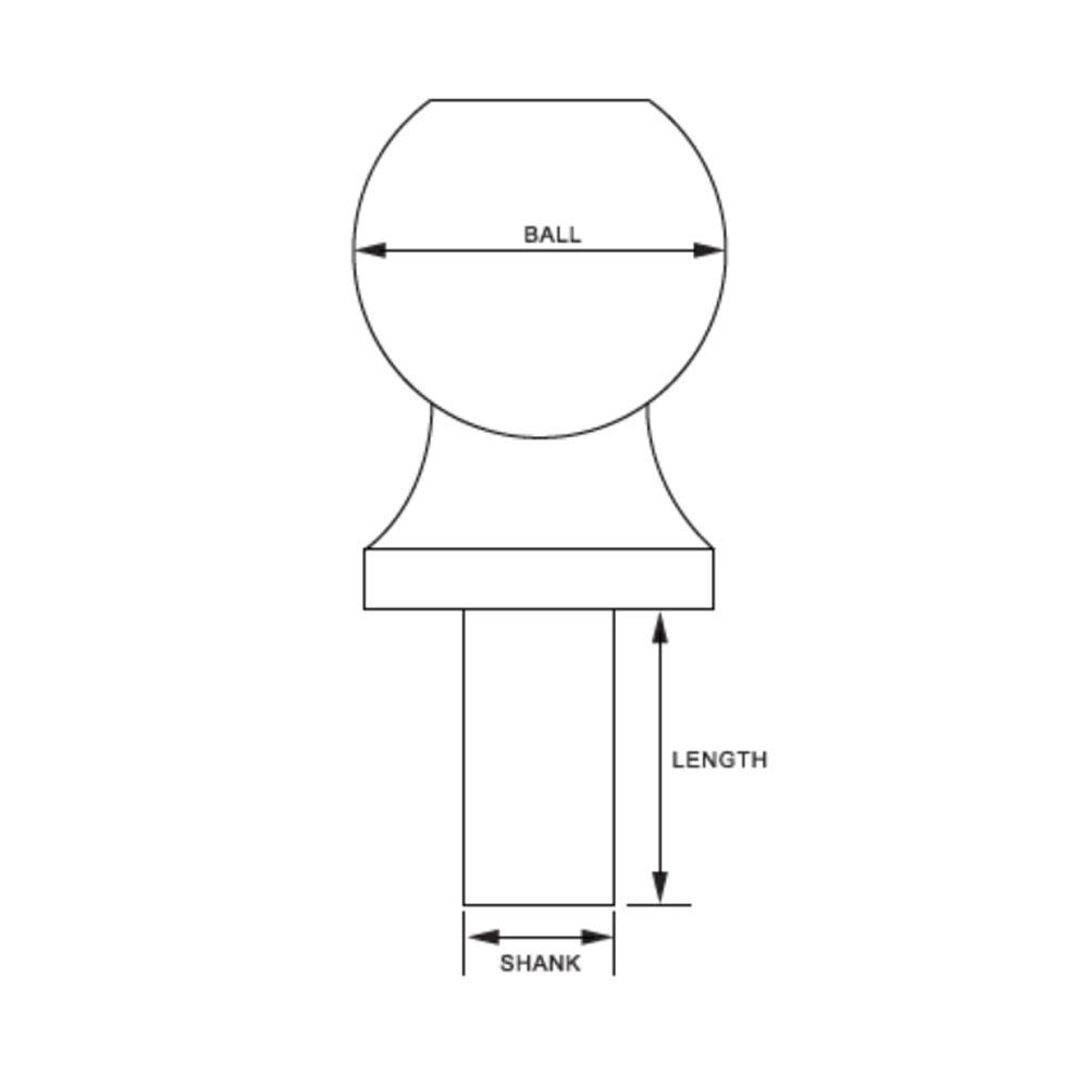 Steel Ball Lock Hitch