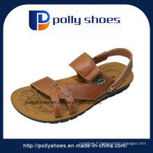 Sandales cuir en cuir à l'été confortable