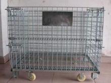 折りたたみ式ワイヤー メッシュ コンテナー ストレージ ケージ