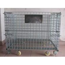 Surpermarket steel lockable storage cage