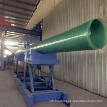 Máquina de bobina del filamento del tubo de FRP GRP con de alta calidad