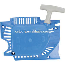 chain saw blue chain saw easy starter cover for 1E45F engine made in zhejiang
