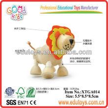Brinquedos para animais de madeira para crianças