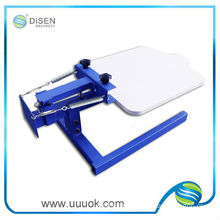 Tabletop screen printer for t shirt