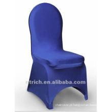 tampa da cadeira banquete, tampa da cadeira de lycra, CTS808 azul royal, apto para todas as cadeiras