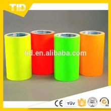 Film fluorescent de bande / vinyle fluorescent de PVC