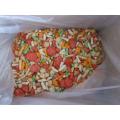 2015 neues Produkt Reis Cracker beschichtete Erdnuss gemischte Reis Cracker