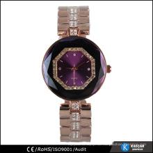 Shinning Stein Roségold Armband Luxus Uhr Frauen
