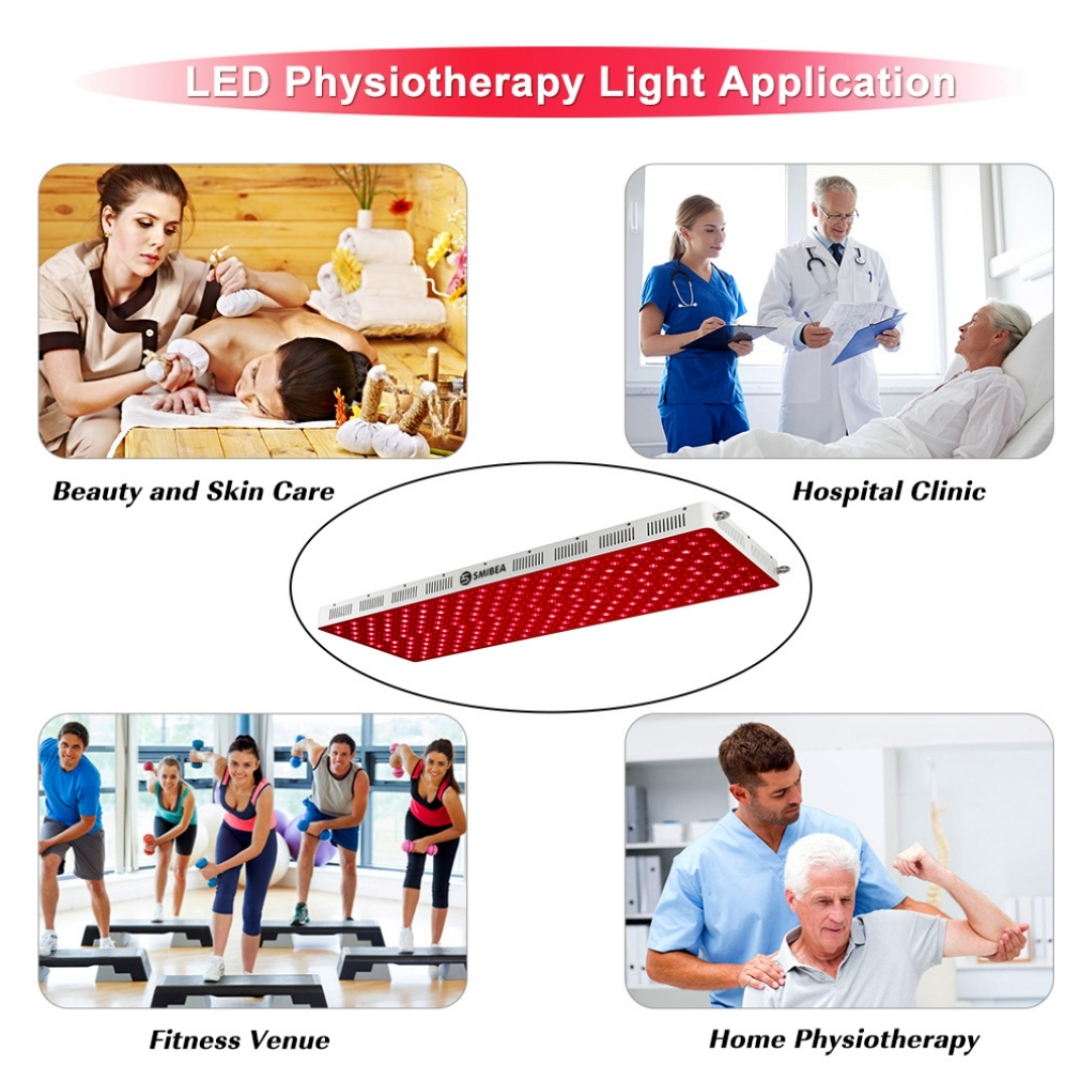 High Power Red Light Therapy Panel