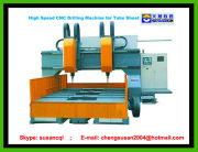 High-Speed CNC Drilling Machine used in heat exchanger pressure vessel