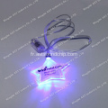Broche clignotante S-7011B, Badge clignotant, Broche clignotante à LED