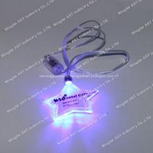 Broche clignotante S-7011B, Badge clignotant, Broche clignotante à LED