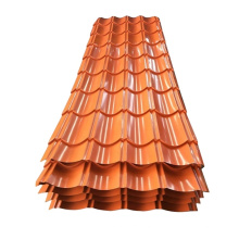 Top quality Color Coated corrugated Sheet Metal Tile Iron Roofing Sheet