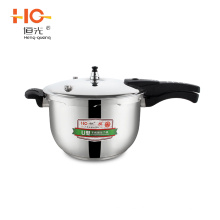 Hot sell safety guarantee 304 stainless steel u-shape pressure cooker