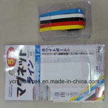 Farbe Gummi Magnetstreifen, Packung mit 5 (OI42001)