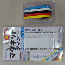 Color Rubber Magnetic Stripe, Pack of 5 (OI42001)