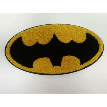 remendo do chenille do LOGOTIPO de Batman da forma
