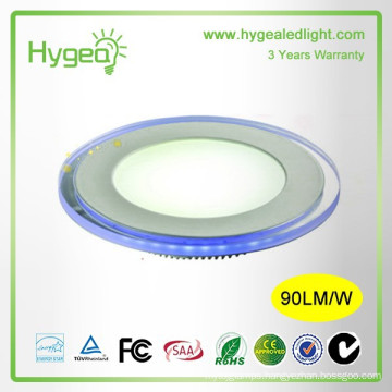 Shenzhen factory 2015 hot sales Round Blue+white color led panel light 10w 15w 20w Dimmable Color changing led panel light price