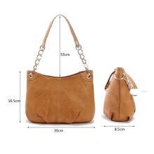 YAHB-0021,wholesale European American fashion crocodile pattern PU chain women's single shoulder bag