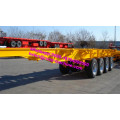 3 Axles Container Transport 40FT Skeleton trailer