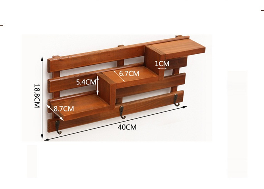 small firm office wooden shelf