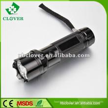Aluminiumlegierungsmaterial 12000-15000MCD Hochleistungsmetalltaschenlampe Fackel
