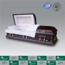 Adulte américain cercueils cercueils pour enterrement crémation _ Chine cercueils fabrique