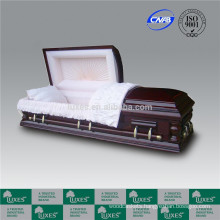 LUXES China Caskets Coffins Manufacture For Funeral