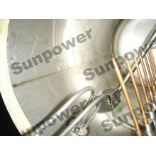 Kompakter druckbeaufschlagter Solarwarmwasserbereiter