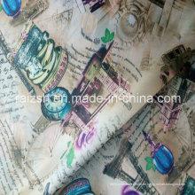 100% Polyester Modische bedruckte Taft Futter Stoff