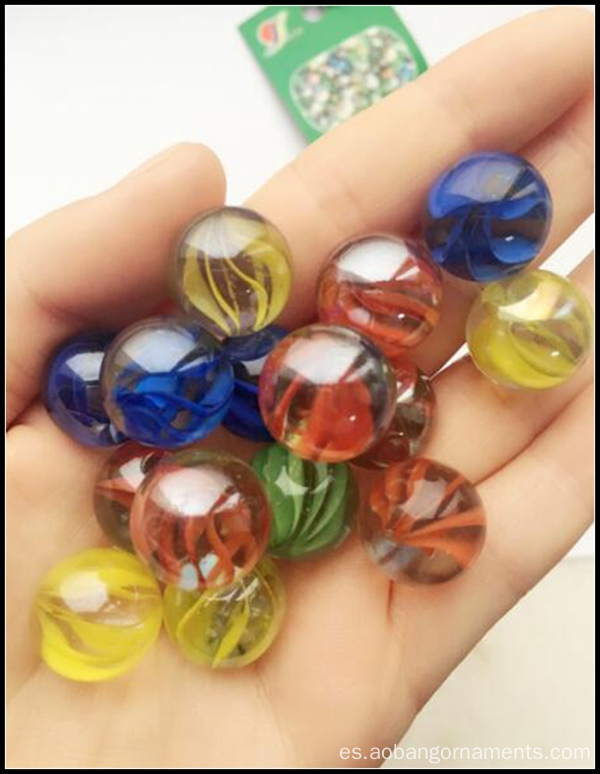 Venta al por mayor Glass Marbles Factory for Kids Playing